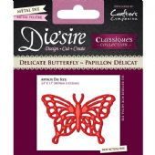 Crafters Companion Die'sire Dies - Delicate Butterfly - DS-C-DELBUT